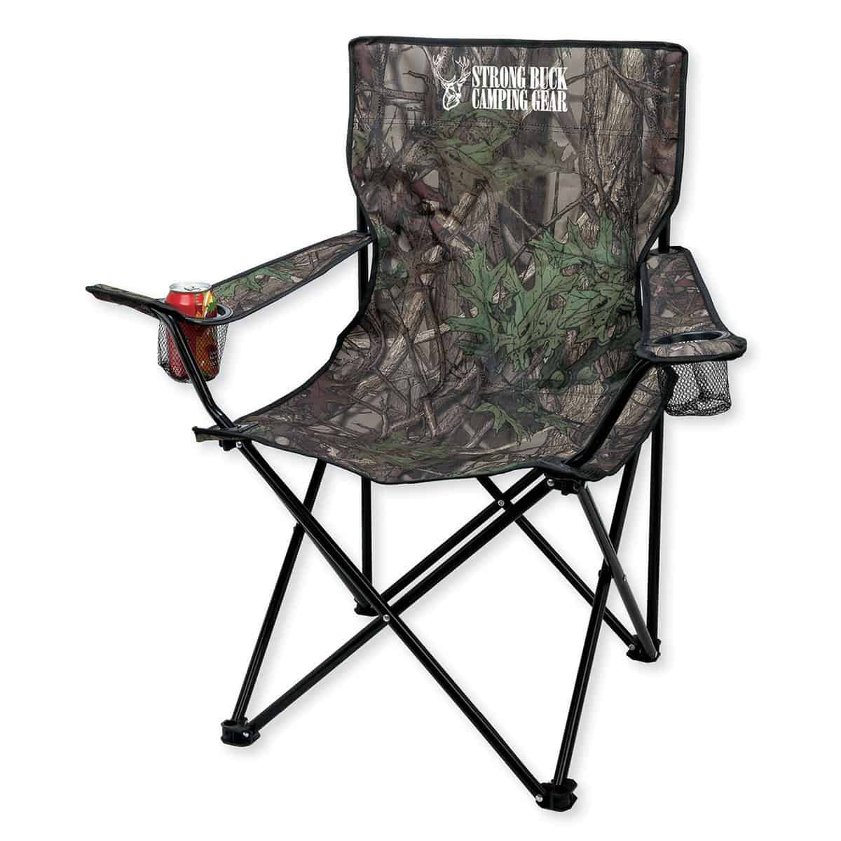 Camo Folding Chair w/Carrying Bag