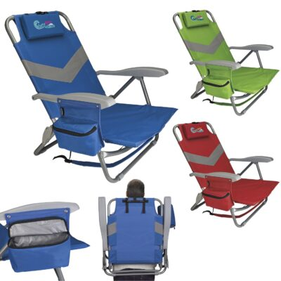 Koozie® Clearwater Beach Backpack Chair
